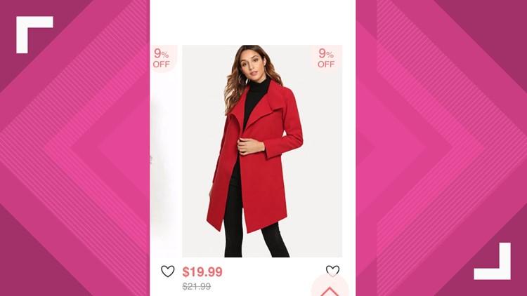 Brenda Coat from Romwe