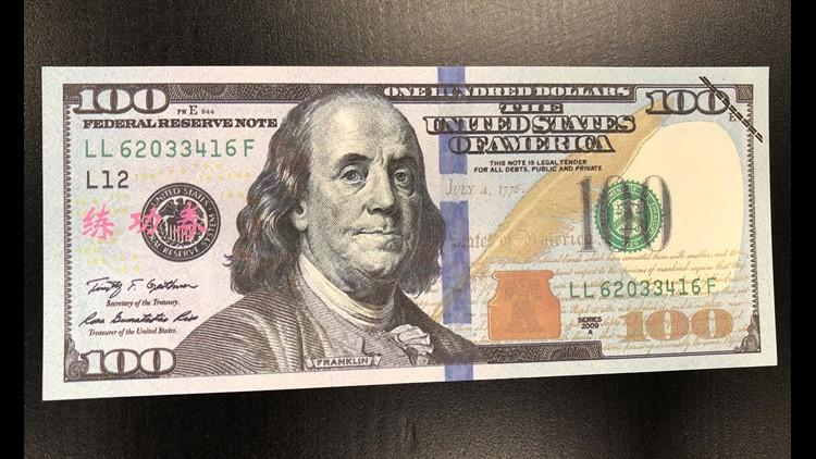 Movie money or prop money