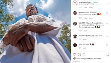 Deshaun Watson baptized in Jordan River in Israel