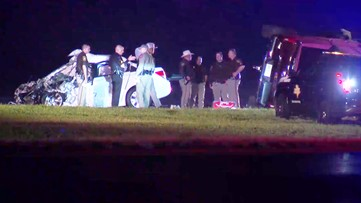 Driver was going wrong direction for 10 miles before crash that killed innocent person, Fort Bend deputies say