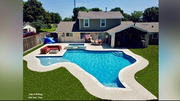 Everything Is Bigger In Texas Including This Pool!