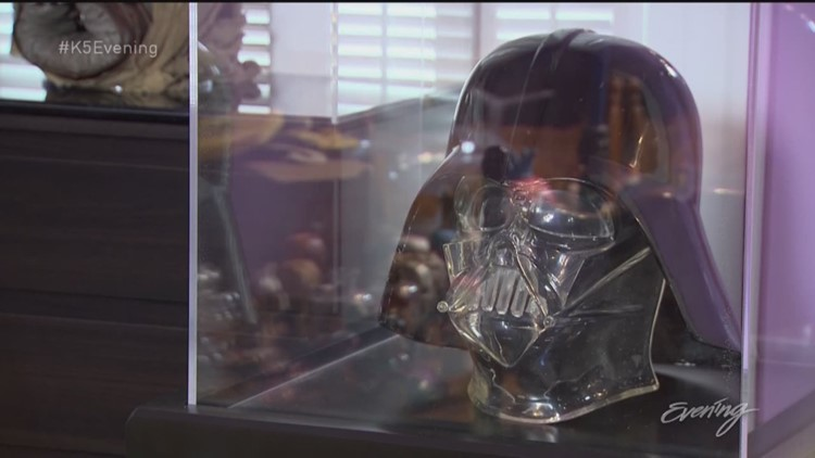 The force is strong with this Seattle Star Wars collector - KING 5 Evening