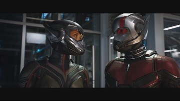 Ant-Man and the Wasp cast are life-sized action figures