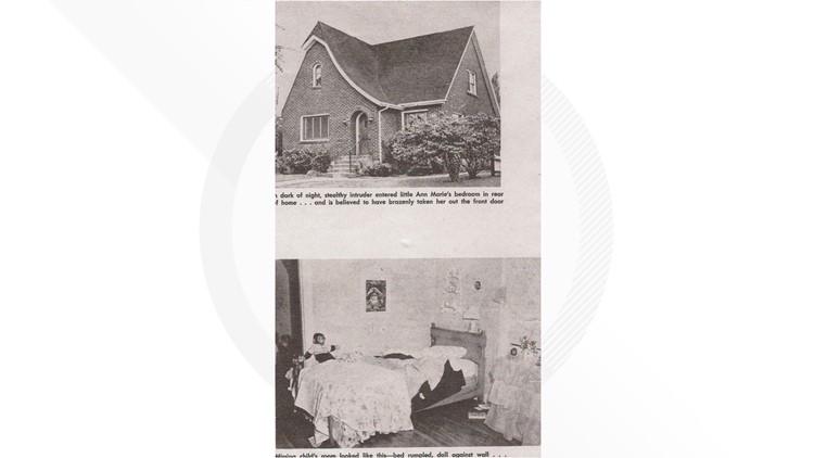 Ann Marie Burr home and room