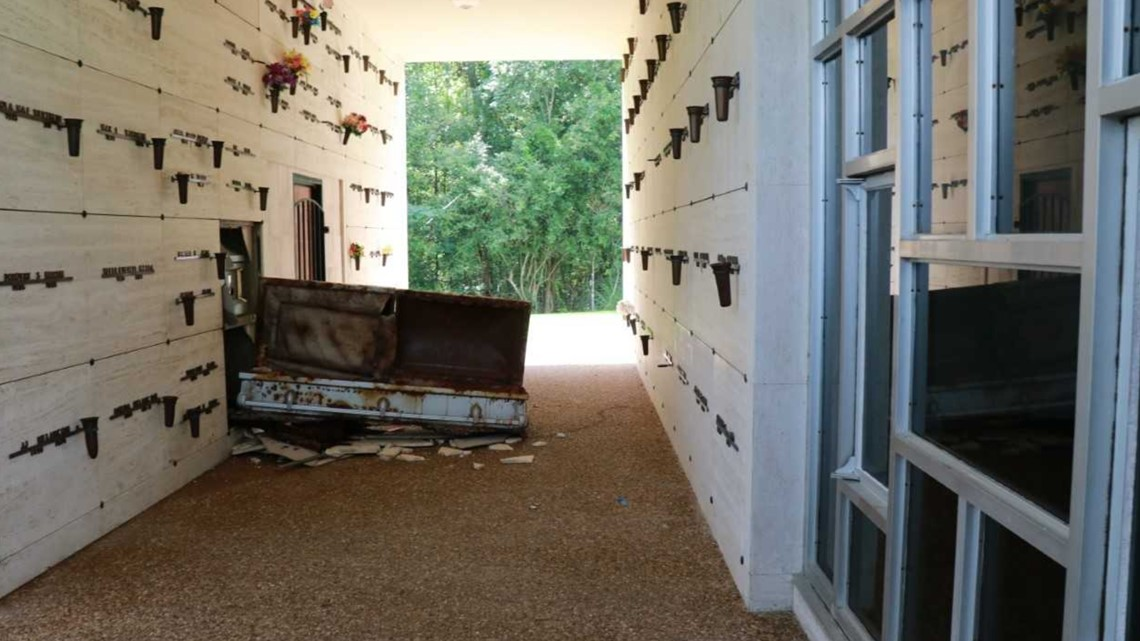 'Grave Robbers' Opened Casket, Damaged Two Tombs in Cemetery