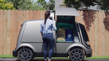 Driverless grocery delivery tests first-of-its-kind pilot program in Scottsdale