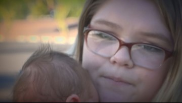 Arizona mom fears kidnappers targeted her baby at Costco, warns parents