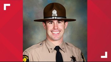 Illinois State Police trooper Nick Hopkins dies after being shot while serving a warrant