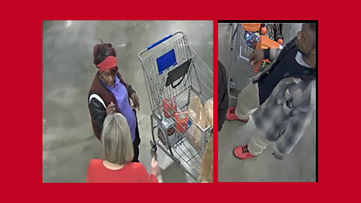 Woman throws frozen shrimp at Kroger employee, police searching for suspects