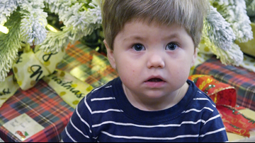 Adopted one-year-old Arkansas boy in need of kidney transplant