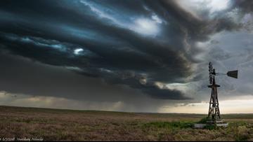 Incredible Photos Show Lightning Storm On Nebraska Panhandle