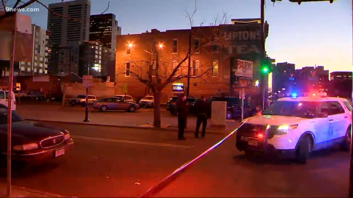 Police: 1 dead, 4 hurt in downtown Denver shooting blocks from Coors Field