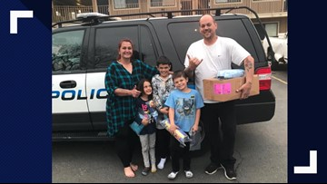 Police Officer Helps Family Afford a Place to Stay