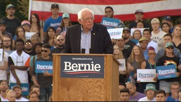 Bernie Sanders Speaks at Bennett College