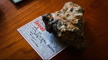Austin man has meteorite collection including pieces of the moon and Mars