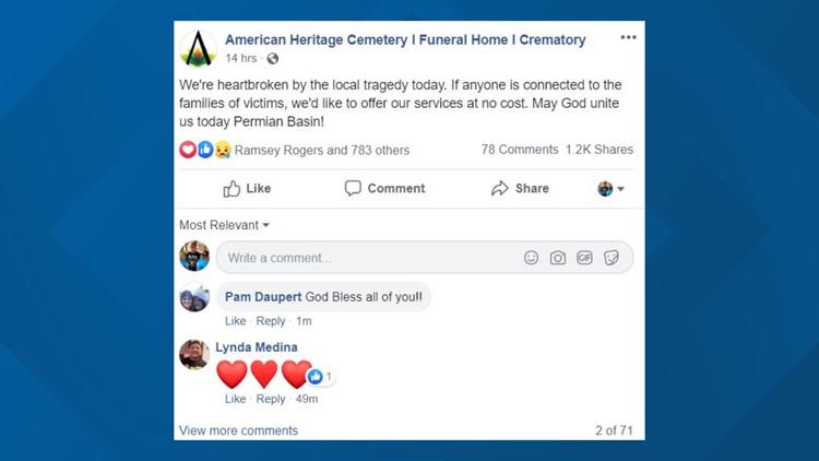American Heritage post