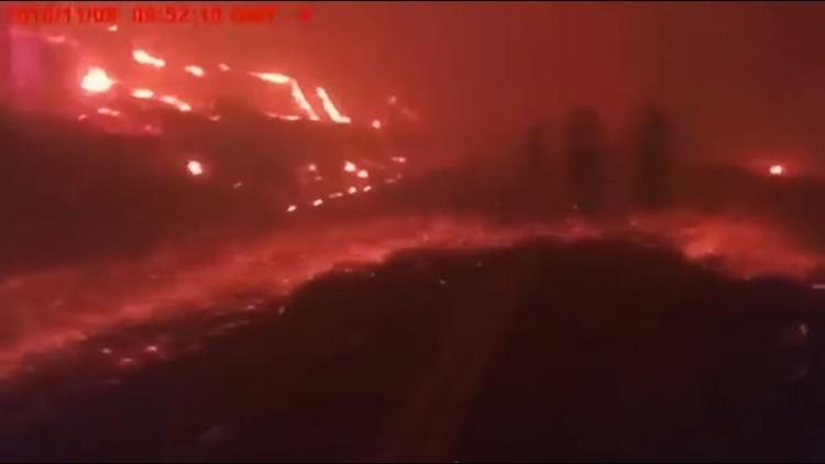 Camp Fire: Bodycam footage shows deputy's scary evacuation