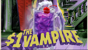 Forget bloody mary's, try this vampire drink for $1 all this month at Applebee's