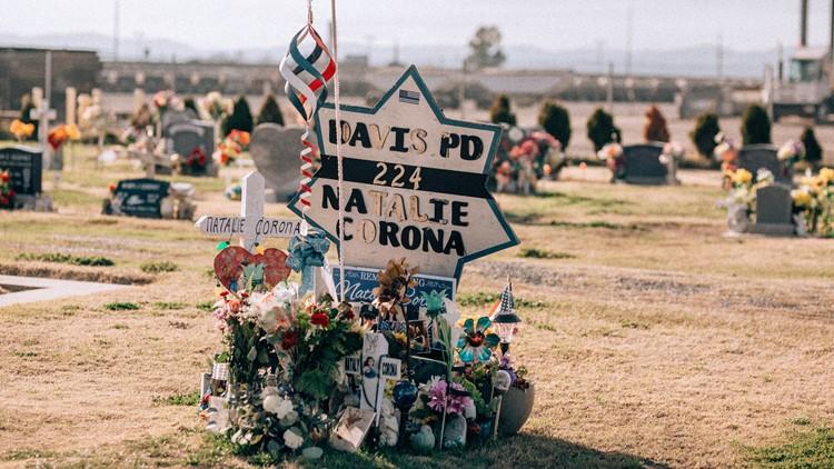 Natalie Corona grave
