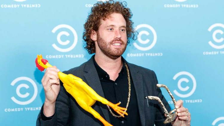 TJ Miller Busted for Giving Feds False Info About Amtrak Bomb Threat