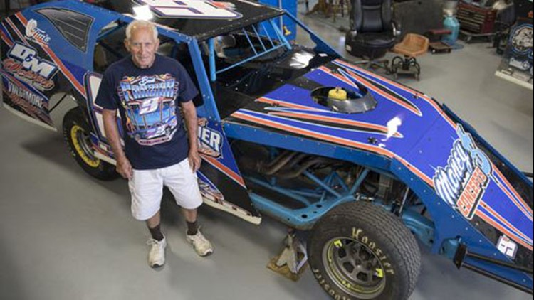 Even though he doesn't keep count, Bud 'The Legend' Frazier estimates he's won about 350 to 450 races in his lifetime.