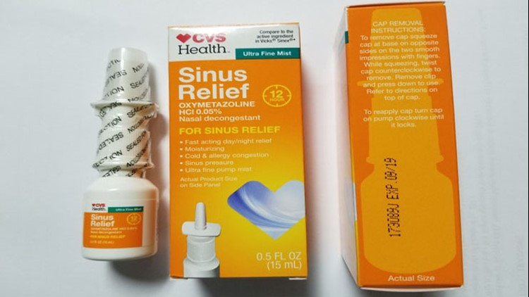 CVS Health 12 Hour Sinus Relief Nasal Mist