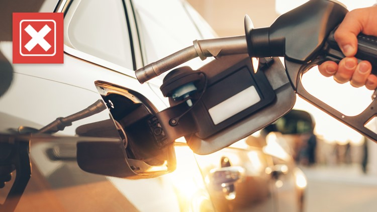 No, putting sugar into the gas tank does not ruin a car's engine