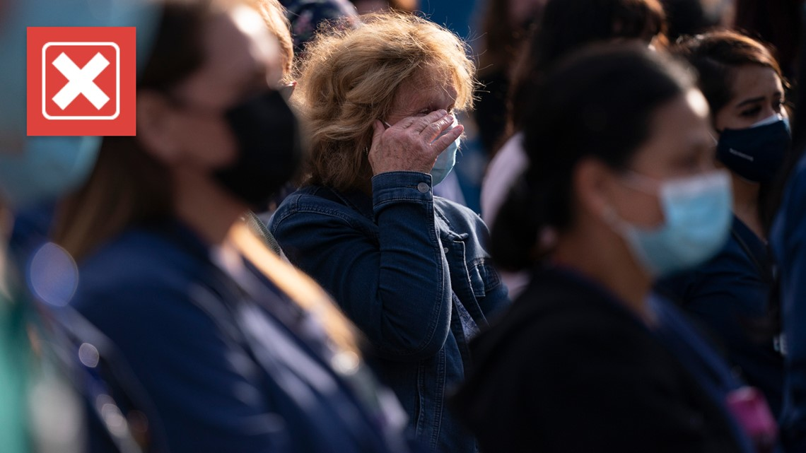 The COVID-19 death toll in the U.S. has not yet hit a pandemic low