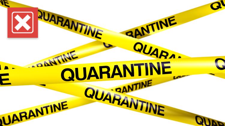 No, there isn't a government training program designed to mass quarantine unvaccinated people