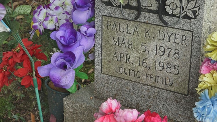 Paula Dyer headstone grave tombstone Irick