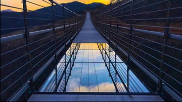 Longest Pedestrian Suspension Bridge In The U.S. Opens In Gatlinburg In May