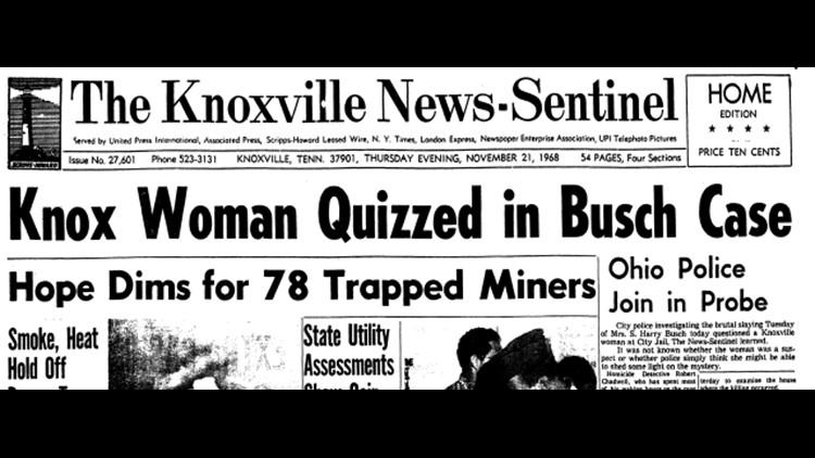 Hazel Davidson quizzed in Busch killing