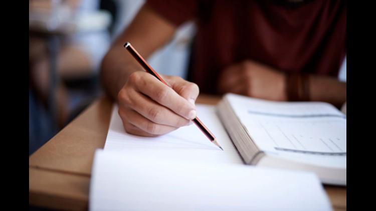 test paper school generic