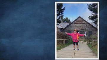 Knoxville woman hikes 1,300 miles in remembrance of the events of Sept. 11