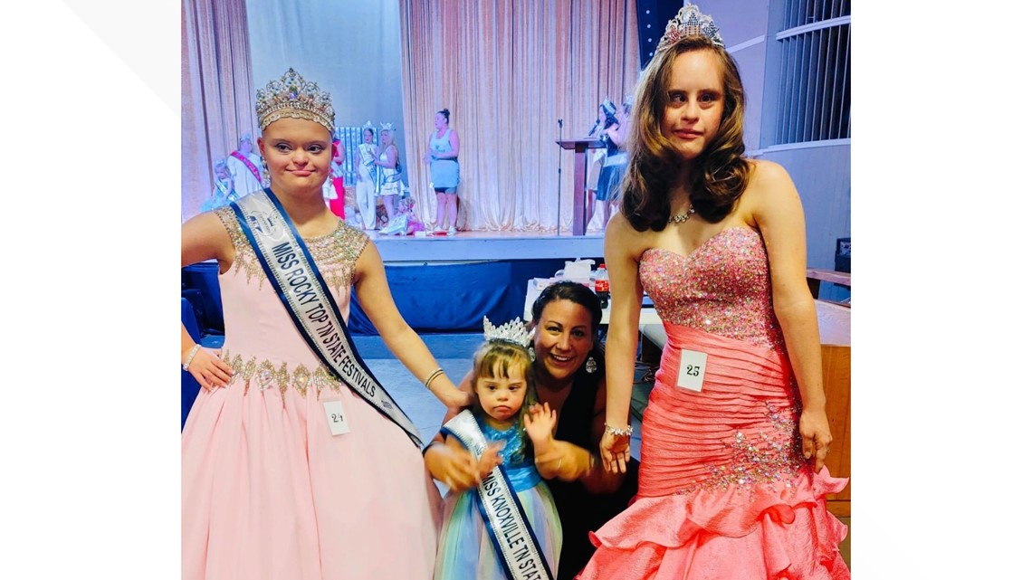 Beauty queens with Down Syndrome breaking barriers on the national stage