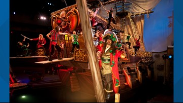Yo ho ho ho: Pirates Voyage to Premiere New Holiday Show at Pigeon Forge