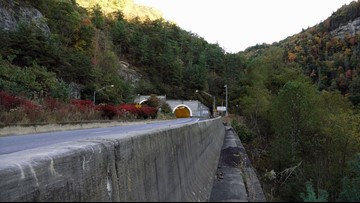 NC crews reopen I-40 West through Pigeon River Gorge