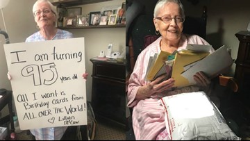 NC woman wants 95 birthday cards to celebrate her 95th birthday