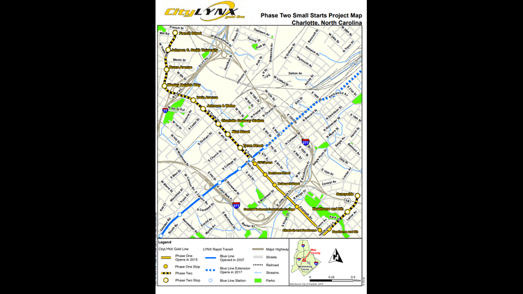 gold line phase 2