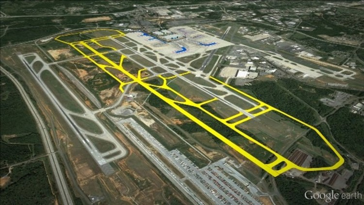 Proposed Charlotte airport runway