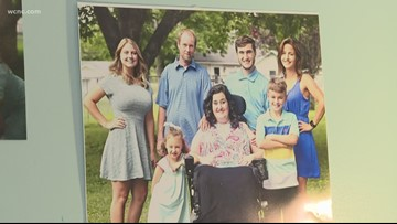 NC Mother of 5 Battles ALS; Daughter Says 'Every Day is Different'