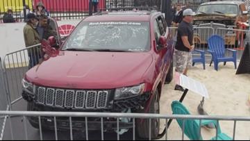 Hurricane Dorian Jeep makes an appearance at NC AutoFair