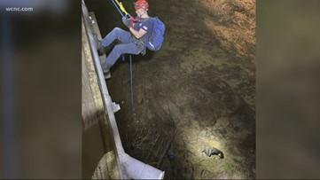 NC FedEx driver who fell 75 feet, meets his rescuers