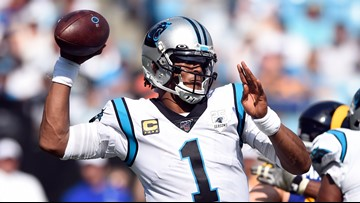 Cam Newton released by the Carolina Panthers