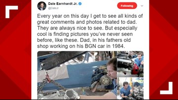 Dale Earnhardt Jr. Shares Rare Photos of Father on 18-Year Anniversary of his Death