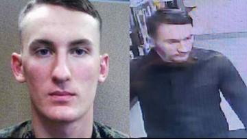 U.S. Marshals capture Marine deserter charged in  murder