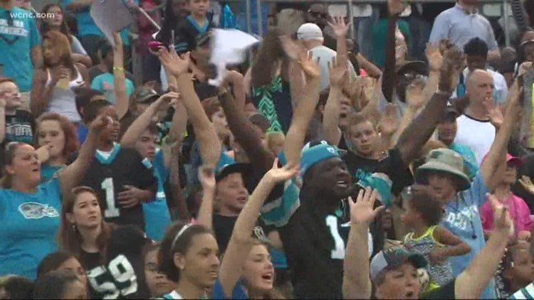 Panthers fans push to 'Keep Pounding'