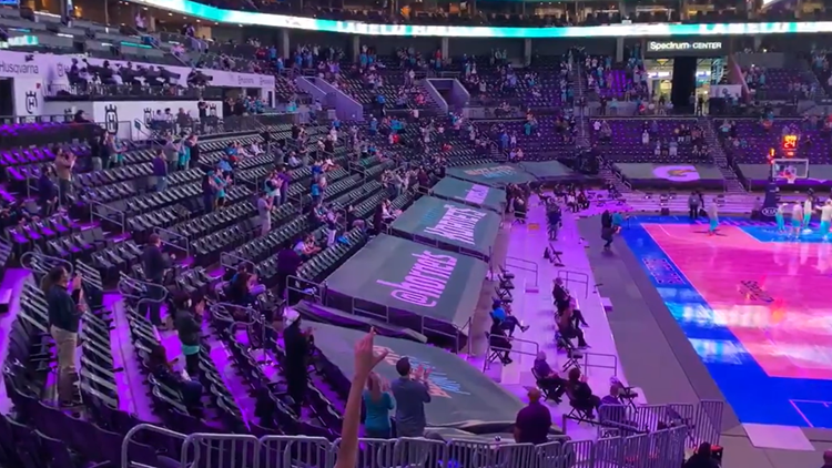 Hornets boost capacity at Spectrum Center to 60%
