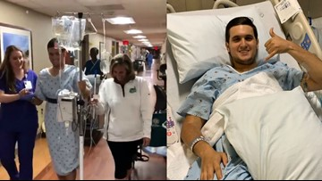 'This is Drew' | UNC Charlotte Shooting Victim Fills Social Media With First Steps, First Meal, Final Surgery