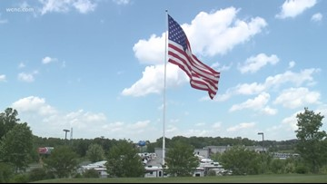 NC company to continue flying massive American Flag after city council vote
